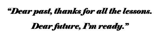Dear Past Quote